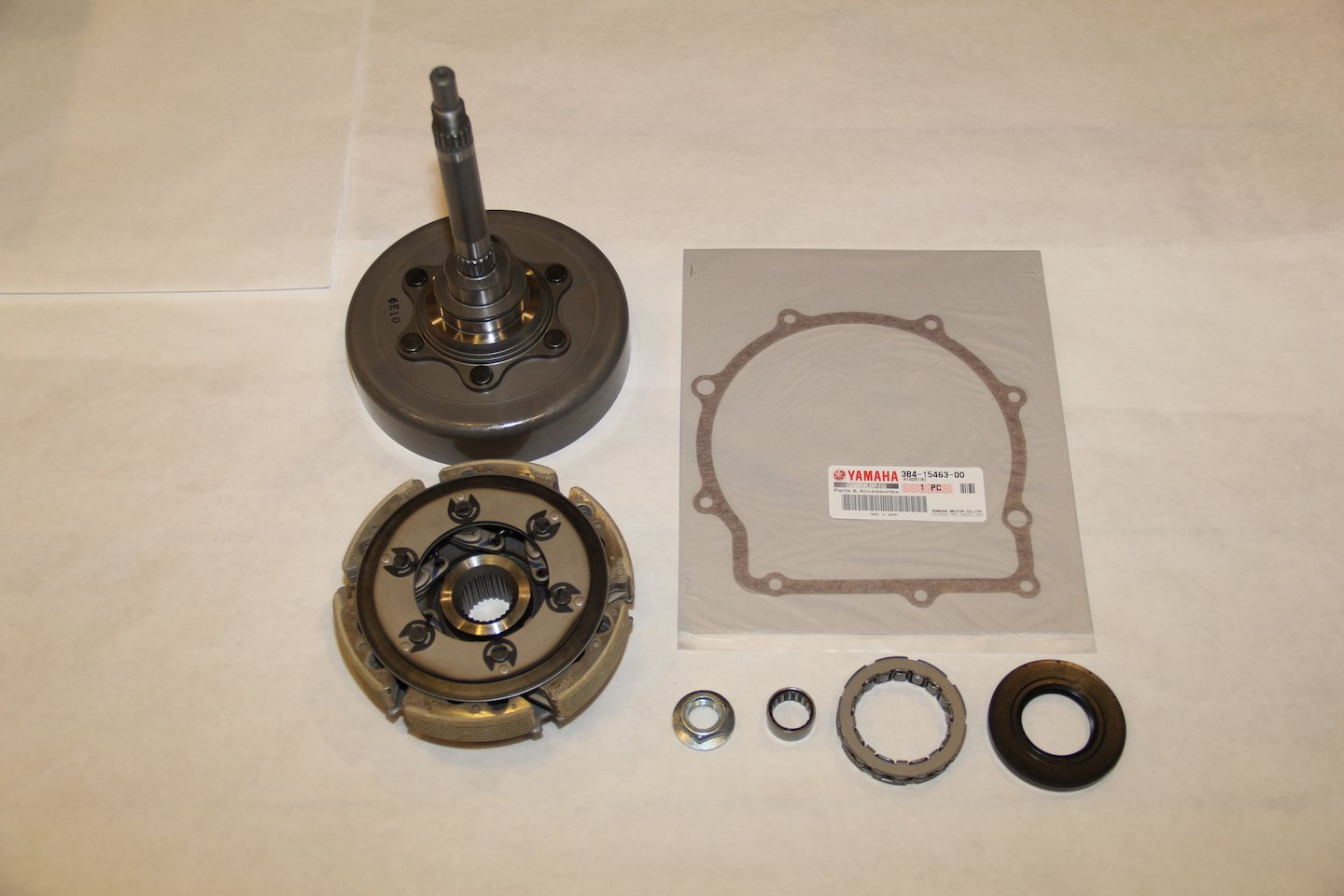 grizzly 700 oem complete wet clutch kit