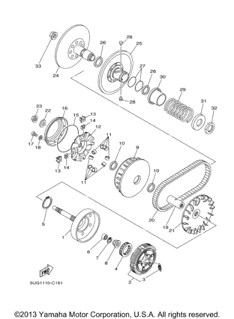 Yamaha Rhino Carburetor Diagram